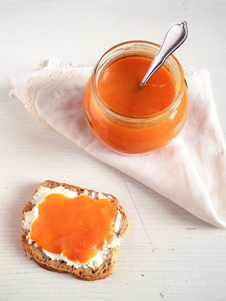 blood orange jam sweet 768x1024 Orange Jam   Low Sugar Jam