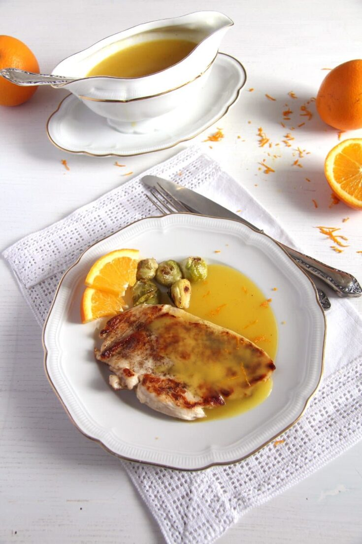 , Chicken in Orange Sauce