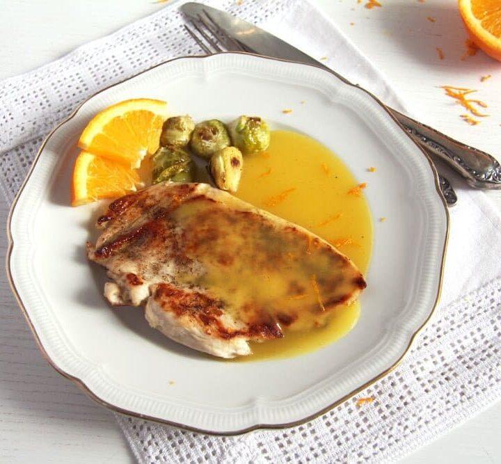 orange sauce for chicken recipe