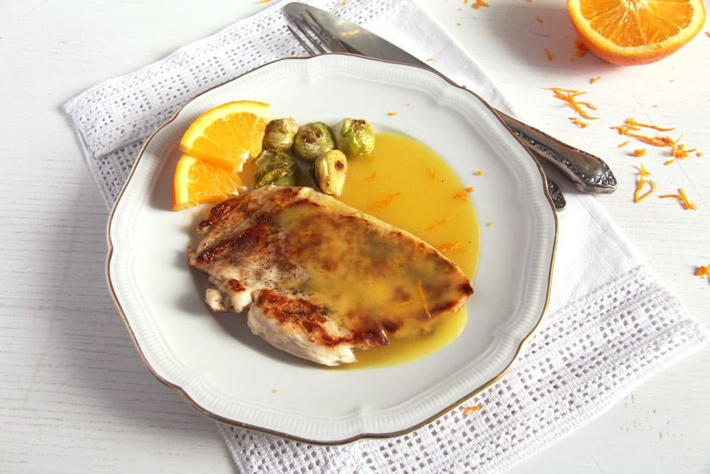 chicken sauce orange Basic Skillet Chicken Breasts