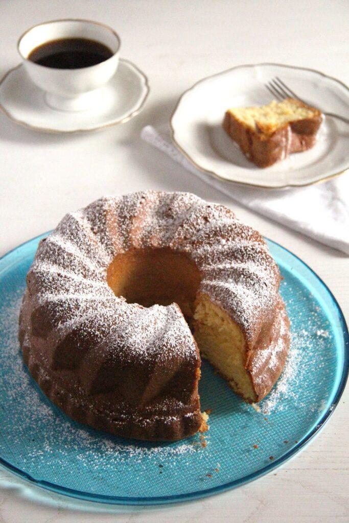 orange cake gugelhupf 683x1024 Orange Bundt Cake   Moist and Easy Orange Cake