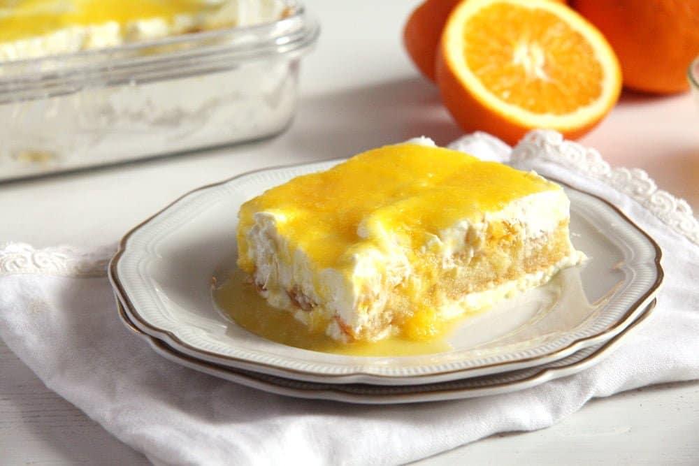 orange tiramisu yogurt Yogurt Bomb with Berries   The Best Dessert Ever