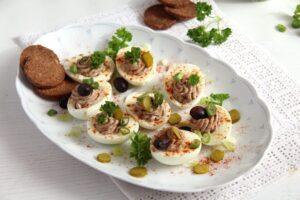 deviled eggs romanian pate 300x200 deviled eggs romanian pate