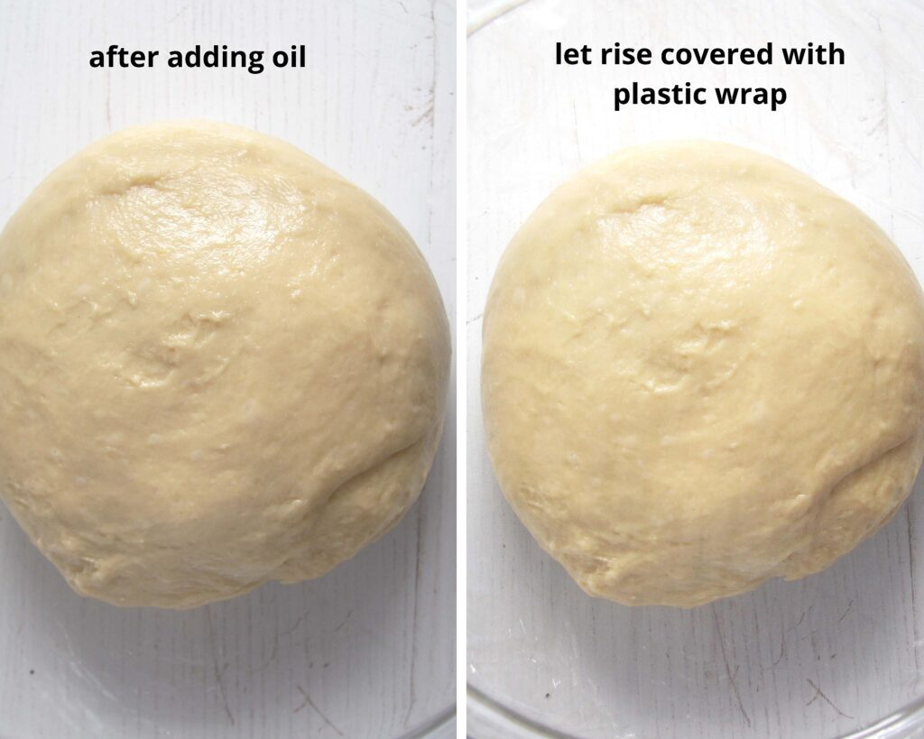 ball of yeast dough
