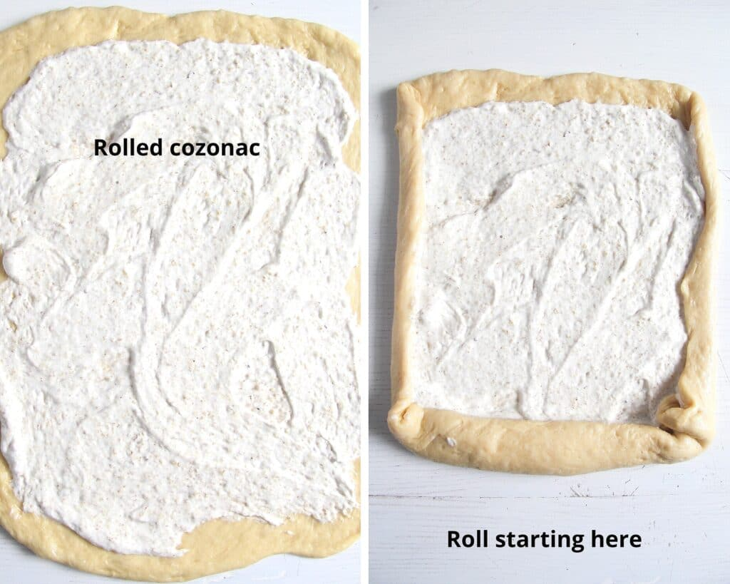 how to fill a yeast roll with egg white walnut filling