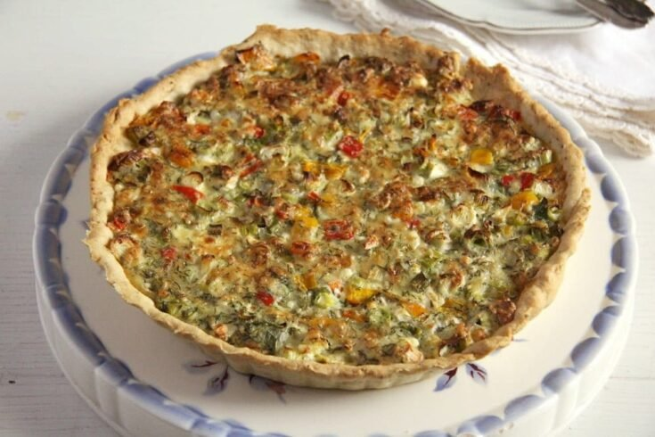 quiche 735x490 Easter Baking Recipes / Sweet and Savory Easter Baking