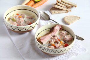 romanian pork soup 300x200 romanian pork soup