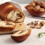 Romanian Sweet Bread with Walnuts – Cozonac