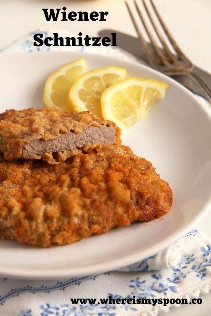 , Wiener Schnitzel – Austrian Veal Schnitzel