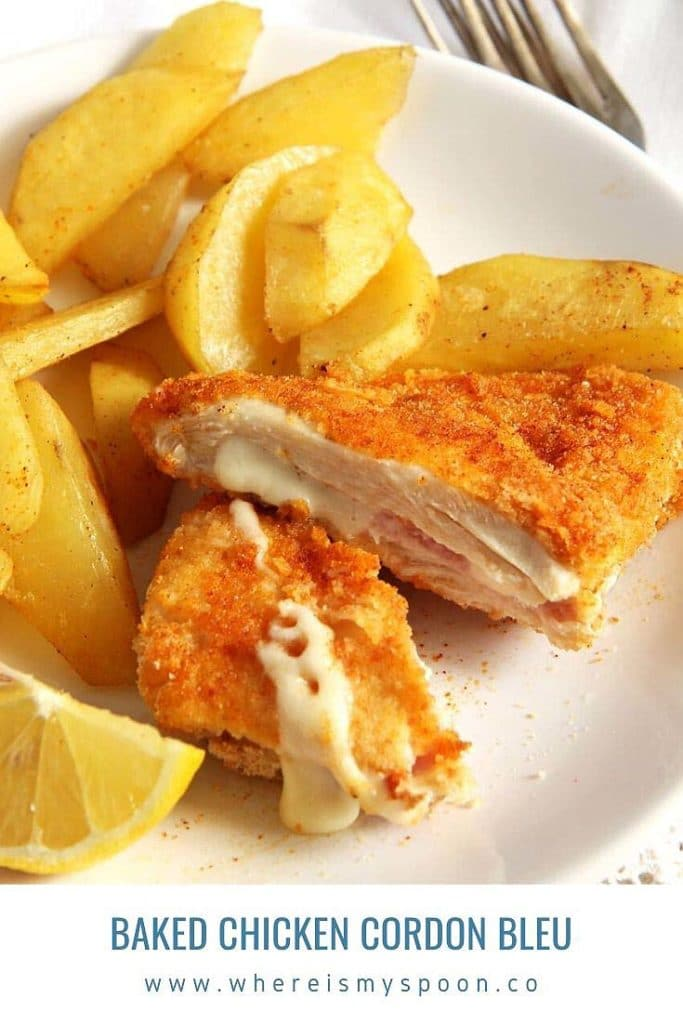 , Baked Cordon Bleu Chicken