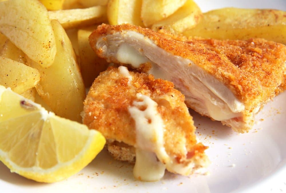 baked cordon bleu chicken