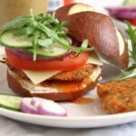 Oven Baked Schnitzel and Schnitzel Burgers