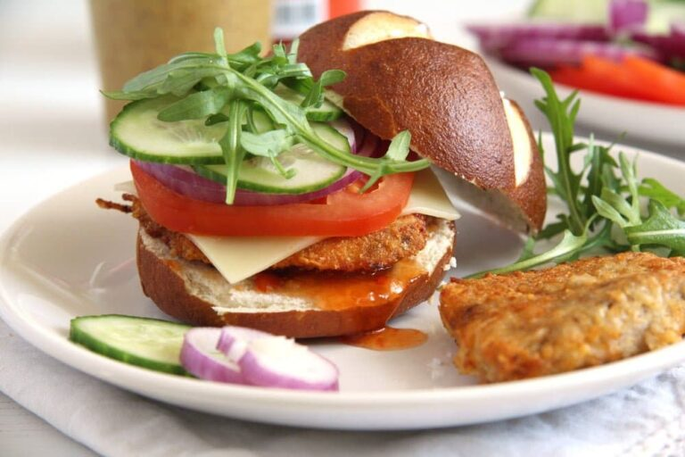 , How to Make Oven Baked Schnitzel and Schnitzel Burgers