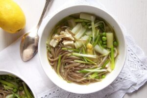 asparagus chicken soup 300x200 asparagus chicken soup