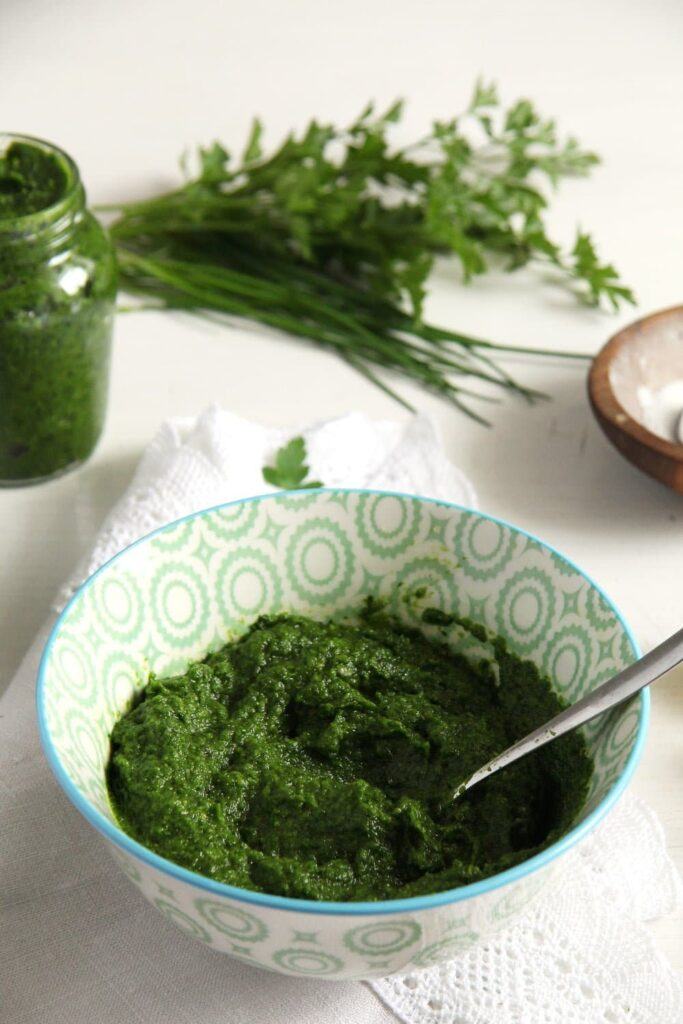 Herb Garlic Paste