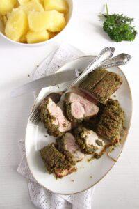 pork tenderloin crust herbs 200x300 pork tenderloin crust herbs