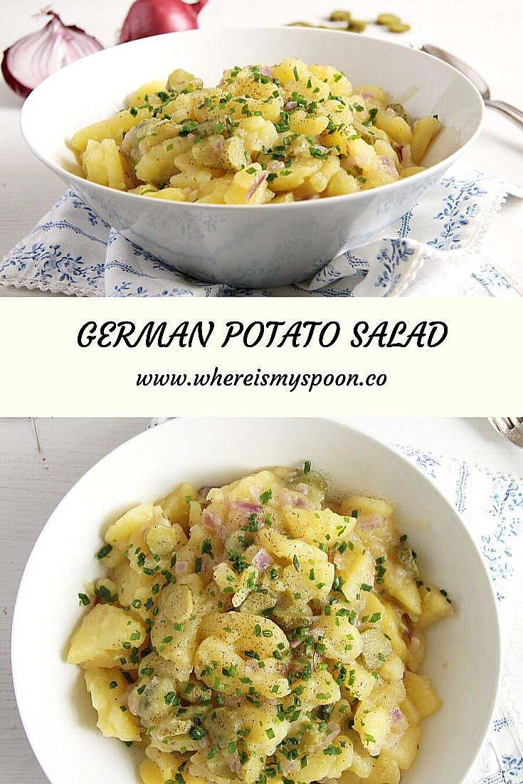 german potato salad German Potato Salad