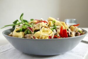 tortellini salad herbs 300x200 Tortellini Salad Recipe – German Salad