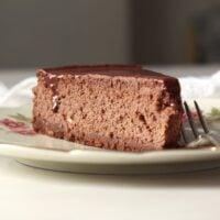 chocolate cheese cake lawso 1 200x200 Double Chocolate Cheesecake