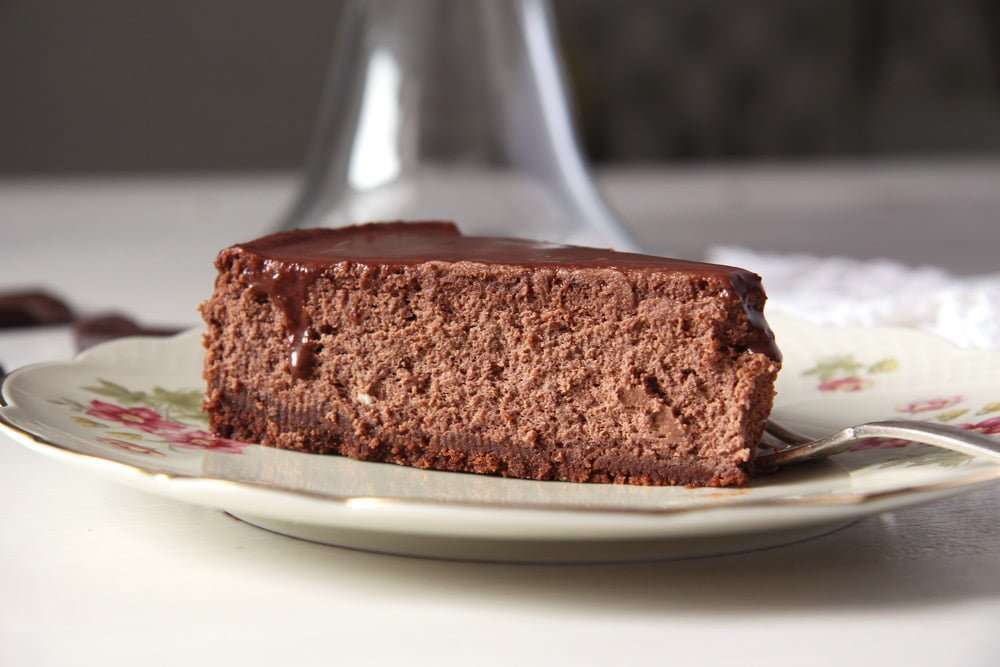 double chocolate cheesecake slice nigella