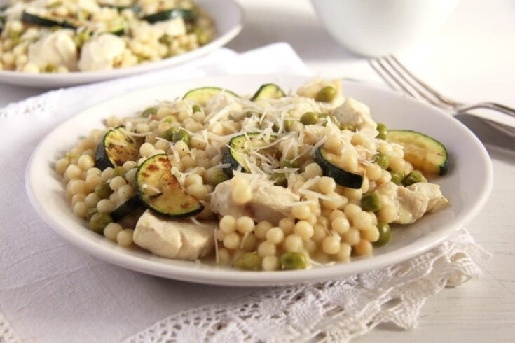 zucchini couscous israeli 735x490 Cooking Zucchini – Over 30 Easy Zucchini Recipes
