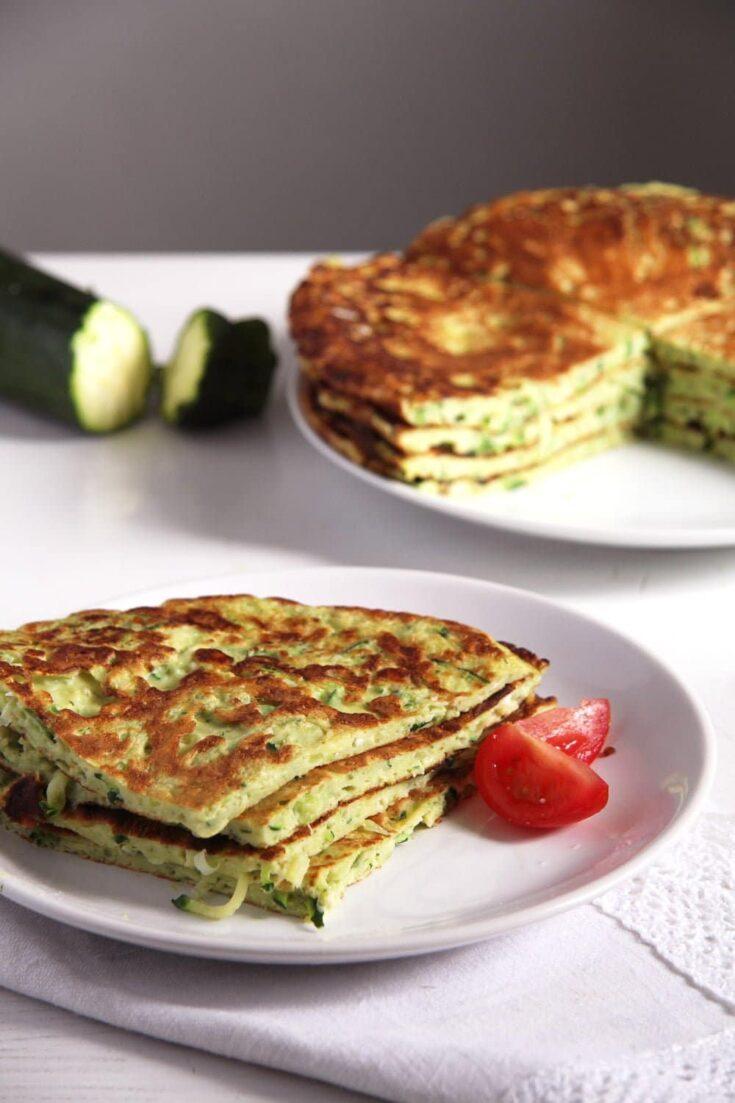 zucchini feta pancakes, Zucchini Feta Pancakes