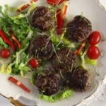 zucchini meatballs meat 150x150 Juicy Zucchini Beef Meatballs with Parmesan