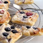 marzipan berry 150x150 Puff Pastry Parcels with Berries and Marzipan