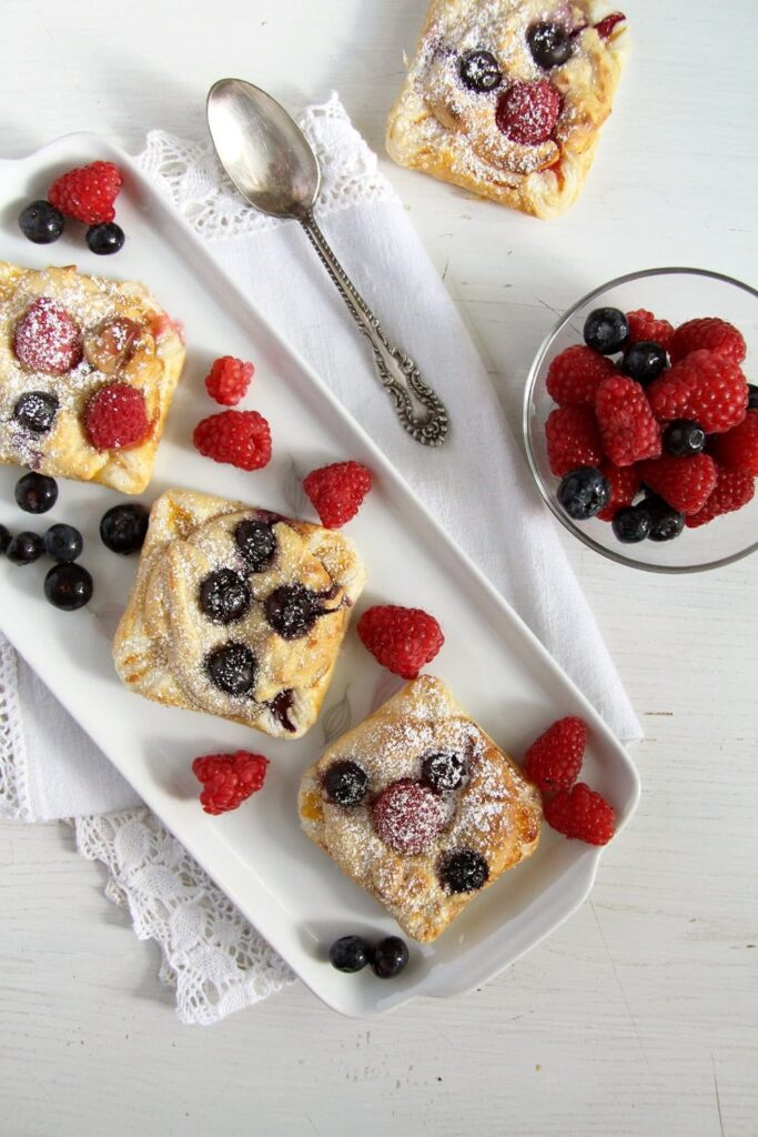 Marzipan Berry Parcels