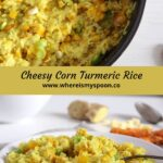 rice with cheese and vegetables