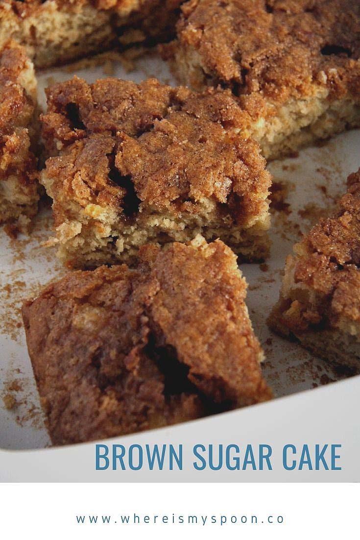 , Brown Sugar Cake