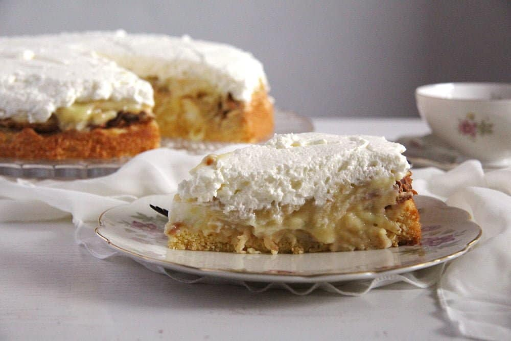 German Apple Cake Almond