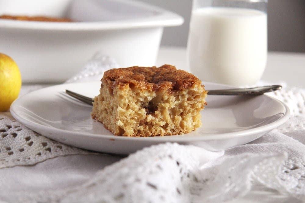 apple cake src Moist Polenta Orange Cake – Malai dulce