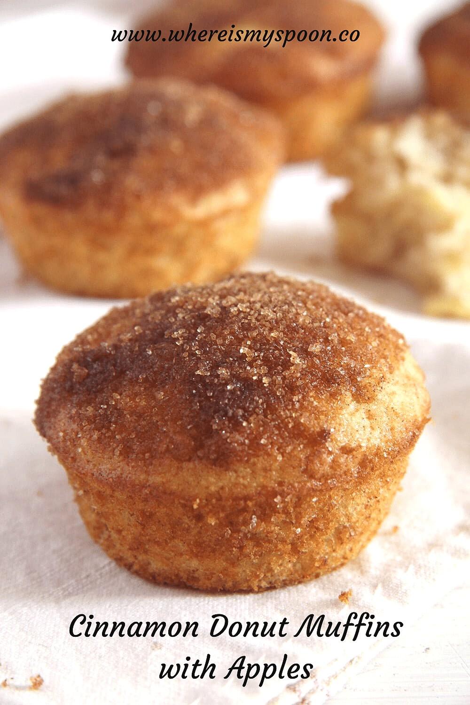 cinnamon muffin recipe, Cinnamon Muffin Recipe (Donut Muffins)