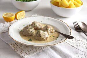 German Meatballs in Caper Sauce