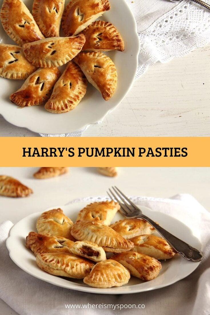 pumpkin pasties, Harry Potter Pumpkin Pasty Recipe