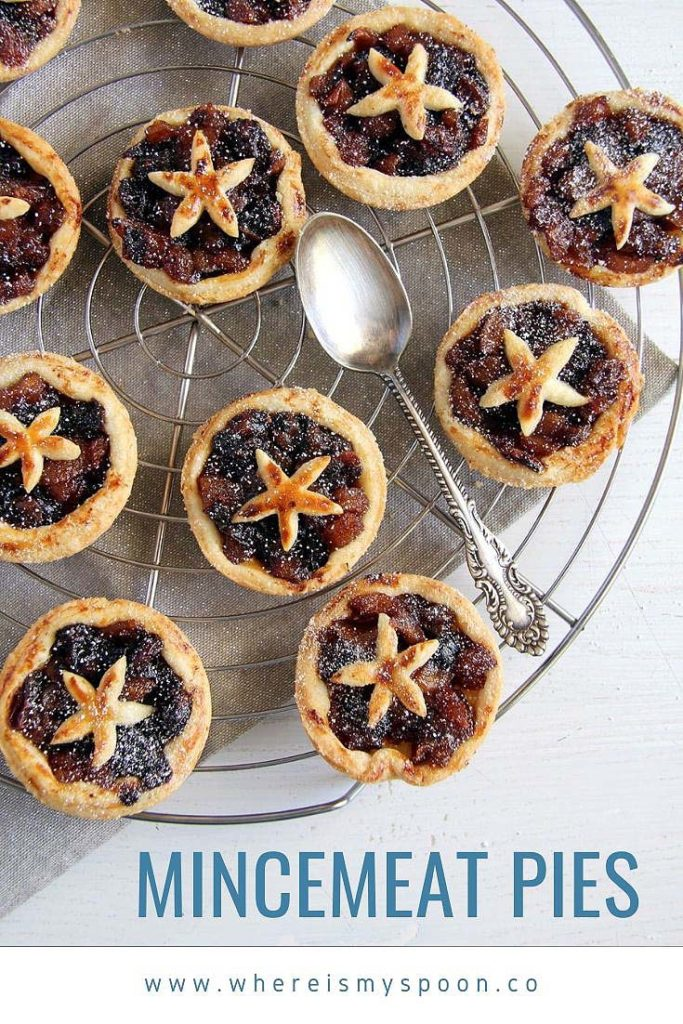 mincemeat tarts with mince pie filling