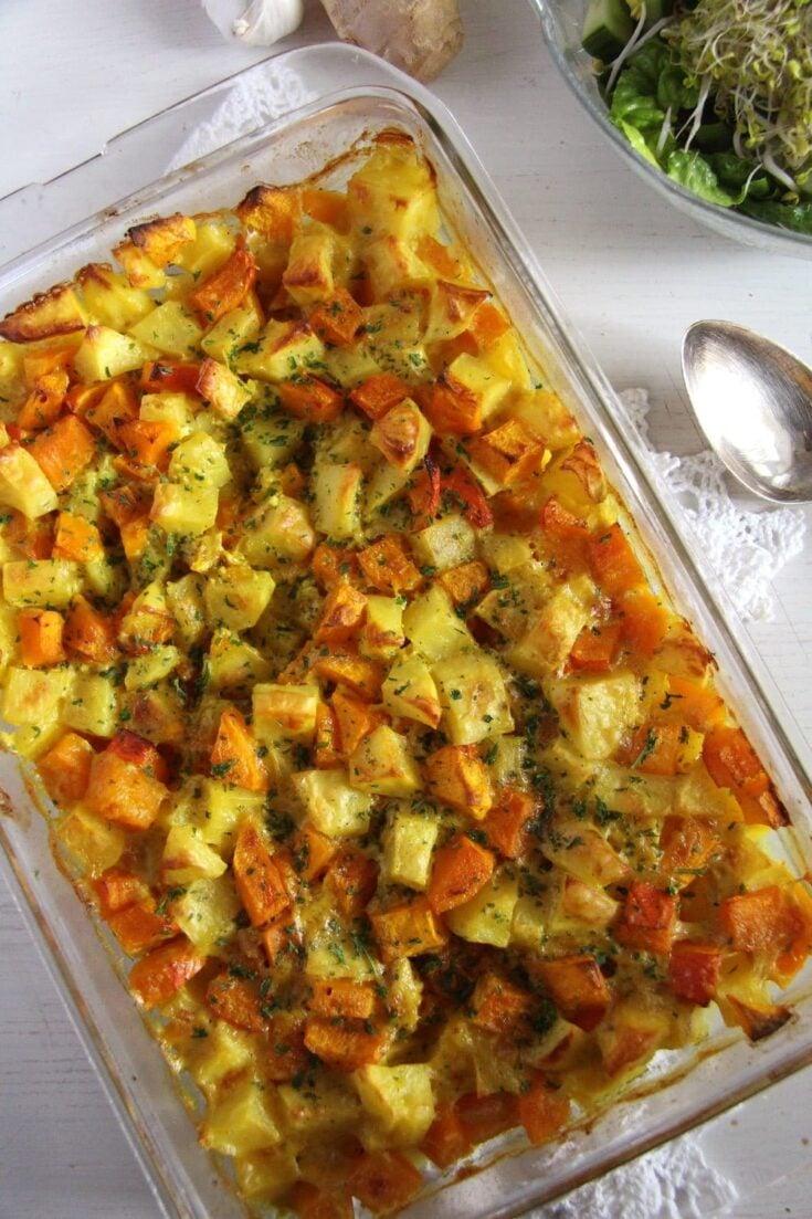 pumpkin potato bake, Pumpkin Potato Bake