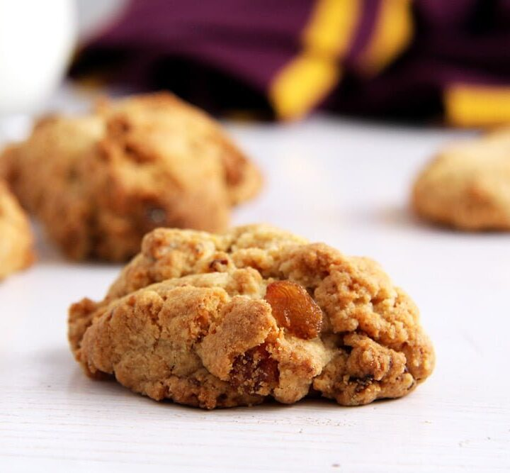close up of one rock cake harry potter
