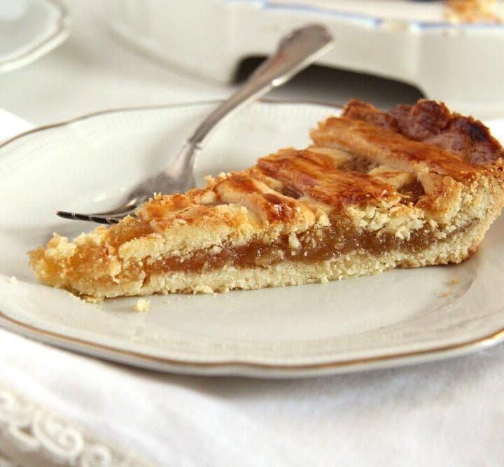 slice of treacle tart