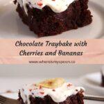 chocolate hazelnut banana cake