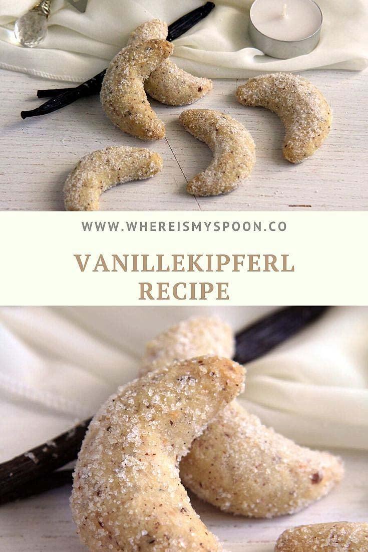 , Vanillekipferl Recipe – Vanilla Crescent Cookies