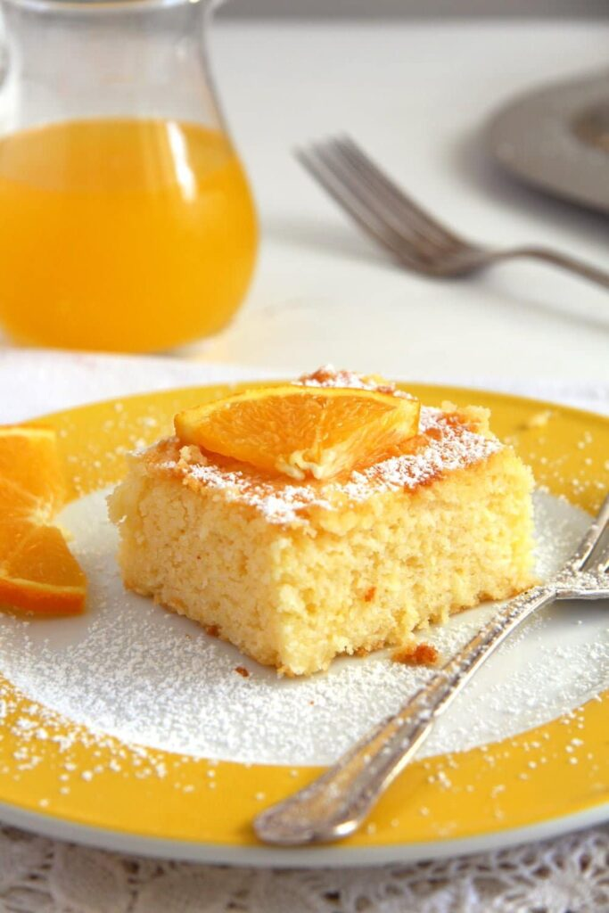 polenta cake orange syrup 683x1024 Moist Polenta Orange Cake – Malai dulce