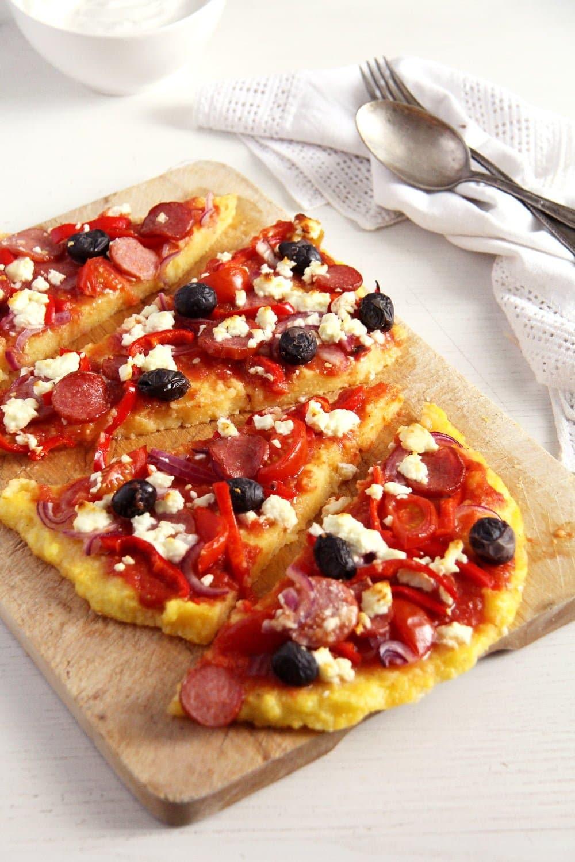 Polenta Pizza