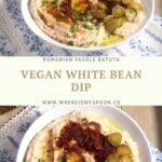 vegan white bean dip
