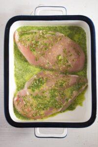 skillet chicken breast 2 200x300 Basic Skillet Chicken Breast