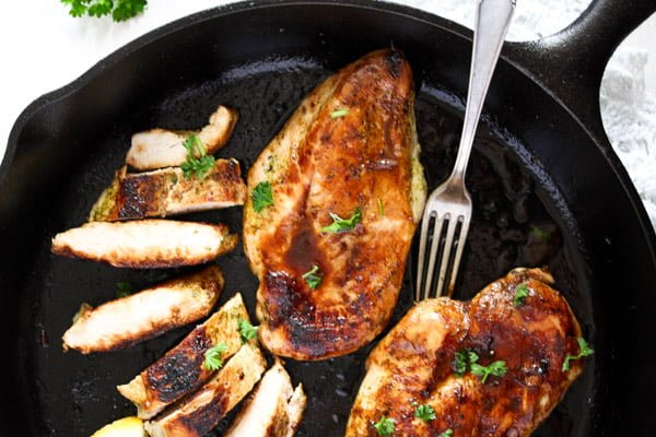 skillet chicken breast 8 Basic Skillet Chicken Breasts
