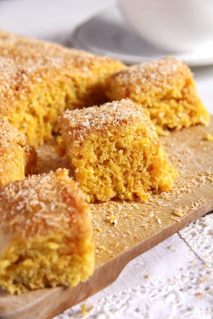 Vegan Carrot Coconut Cake