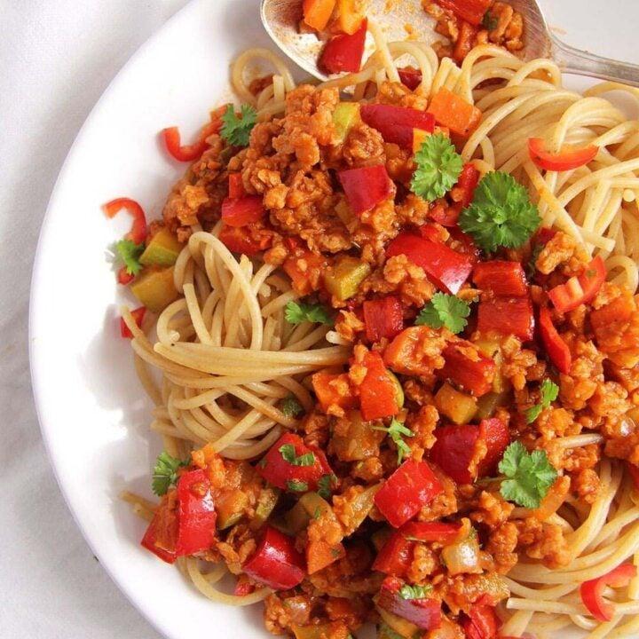 meatless spaghetti sauce 720x720 Meatless Spaghetti Sauce