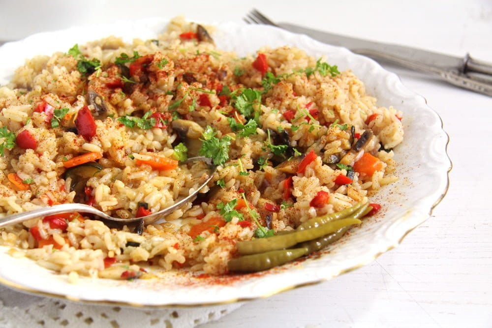 Romanian Vegetable Rice